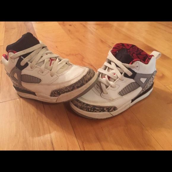 dd04c4e746f3 Nike JORDAN SPIZIKE BT BOYS TODDLER Sneakers Sz10C.  M 5be87858194dadc29c0b0056